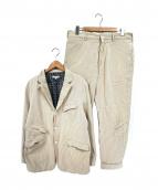 Engineered Garments(エンジニアードガーメンツ)の古着「シアサッカーセットアップ」|ベージュ