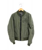 AVIREX(アヴィレックス)の古着「35TH 27RIP STOP MA-1ジャケット」