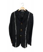 COMME des GARCONS HOMME PLUS(コムデギャルソンオムプリュス)の古着「ポリ縮絨ジップジャケット」