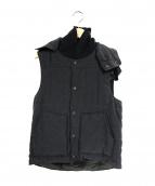 Engineered Garments(エンジニアードガーメンツ)の古着「プリマロフト中綿ベスト」|グレー