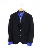 CDG JUNYA WATANABE MAN(コムデギャルソン ジュンヤワタナベ)の古着「リバーシブルジャケット」|ブラック×ブルー