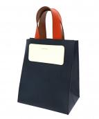 Hender Scheme(エンダースキーマ)の古着「カラーブロックハンドバッグ」