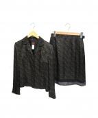 KENZO(ケンゾー)の古着「セットアップスーツ」|ブラック