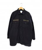 FOH.(エフオーエイチ)の古着「中綿ミリタリージャケット」