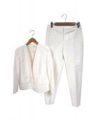 BALLSEY(ボールジィ)の古着「スラブジャガードセットアップ」|ホワイト
