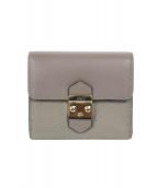 FURLA(フルラ)の古着「3つ折り財布」
