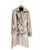 COUP DE CHANCE(クード シャンス)の古着「ライナー付コート」|ピンク