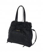 PRADA(プラダ)の古着「ロゴジャガード巾着ナイロントートバッグ」
