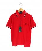 FRED PERRY(フレッドペリー)の古着「ポロシャツ」|レッド