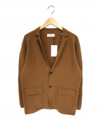 TOMORROWLAND(トゥモローランド)の古着「ニットジャケット」|ブラウン