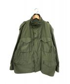ALPHA(アルファ)の古着「M65ミリタリージャケット」|オリーブ