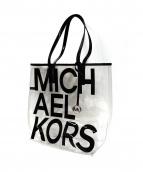 MICHAEL KORS (マイケルコース) ロゴプリントクリアトート 定価18.000円