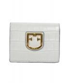 FURLA(フルラ)の古着「BELVEDERE2つ折り財布」|ホワイト