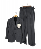 BLACK SIGN(ブラックサイン)の古着「1930s 3ピーススーツ+ネクタイ」|グレーストライプ