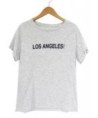 A.P.C.(アーベーセ)の古着「LOS ANGELS TEE」 グレー