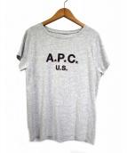 A.P.C(アーペーセー)の古着「US FLAG TEE」|グレー