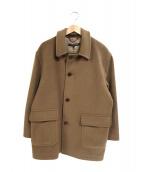 Brooks Brothers(ブルックスブラザーズ)の古着「ウールコート」 ブラウン