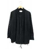 keisuke kanda(ケイスケカンダ)の古着「作務衣ジャージ」|ブラック