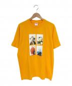 SUPREME×Mike Kelley(シュプリーム×マイクケリー)の古着「Ahh... Youth! Tee」|オレンジ