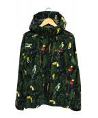 Columbia(コロンビア)の古着「ライトクレストパターンドジャケット」|グリーン