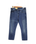 LVC LEVIS VINTAGE CLOTHING(リーバイス ヴィンテージ クロージング)の古着「復刻スリムデニムパンツ」 ブルー