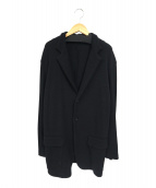 Y's(ワイズ)の古着「ニットテーラードジャケット」 ブラック