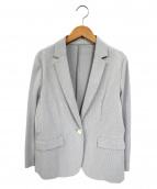 J.PRESS(ジェイプレス)の古着「吸水速乾EVALETジャージーテーラードジャケット」|ライトグレー