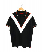 DIESEL(ディーゼル)の古着「ポロシャツ」|ブラック
