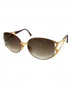 Christian Dior(クリスチャン ディオール)の古着「サングラス」|ゴールド×ブラウン