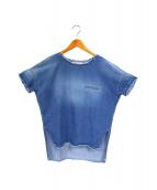 THE SHIRT by upper hights(ザ シーツ バイ アッパーハイツ)の古着「デニムカットオフPO」|ブルー