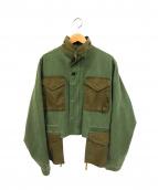 soe(ソーイ)の古着「Military Spey Wading Jacket」 オリーブ