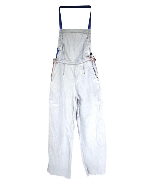 DIESEL(ディーゼル)DIESEL (ディーゼル) デニムオーバーオール インディゴ サイズ:Mの古着・服飾アイテム