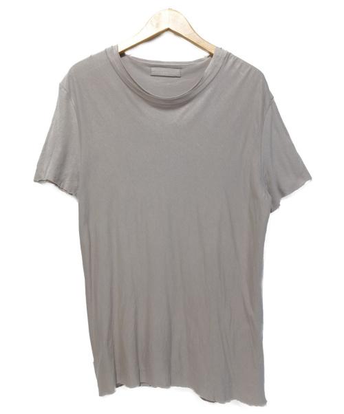 PRADA(プラダ)PRADA (プラダ) レイヤードカットソー スモークピンク サイズ:Lの古着・服飾アイテム