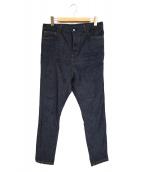 ato(アトウ)の古着「STRETCH DENIM SARROUEL PANTS」|インディゴ