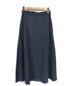 SLOBE IENA(イエナスローブ)の古着「リネンマーメイドロングスカート」|ネイビー