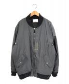 NITROW(ナイトロウ)の古着「MA-1ジャケット」 グレー
