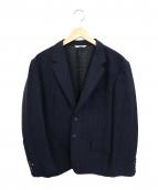 Paul Smith COLLECTION(ポールスミスコレクション)の古着「シルク混2Bテーラードジャケット」 ネイビー