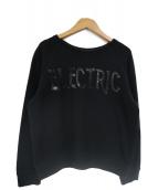 MAISON KITSUNE(メゾンキツネ)の古着「electricスウェット」|ブラック