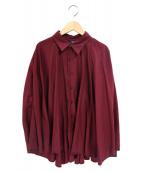 LIMI feu(リミフゥ)の古着「長袖ブラウス」|パープル