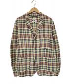 Engineered Garments(エンジニアードガーメン)の古着「チェックセットアップ」 ブラウン