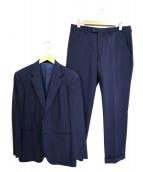Paul Smith London(ポールスミスロンドン)の古着「シルク2Bセットアップスーツ」|ネイビー