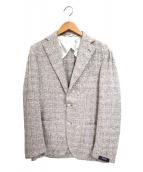 BARBA(バルバ)の古着「3Bテーラードジャケット」|グレー