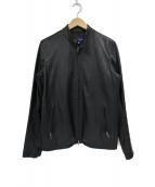 URBAN RESEARCH(アーバンリサーチ)の古着「ピッグレザーシングルライダースジャケット」 ブラック