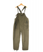 Engineered Garments(エンジニアードガーメンツ)の古着「コットンリップストップオーバーオール」|カーキ