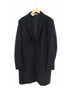 N.HOOLYWOOD(ミスターハリウッド)の古着「1Bウールチェスターコート」 ブラック