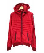 ROSSIGNOL(ロシニョール)の古着「シンサレートフーデッド中綿ジャケット」|レッド