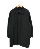 346 BROOKS BROTHERS(346 ブルックスブラザーズ)の古着「ウールライナー付ステンカラーコート」 ブラック