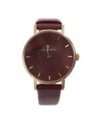 ()の古着「腕時計」|ボルドー