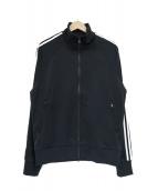 Y-3(ワイスリー)の古着「3ライントラックジャケット」|ブラック