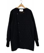F/CE.(エフシーイー)の古着「プリマロフトキルトコート」|ブラック